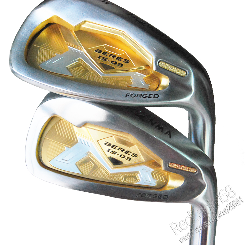 Cooyute New Golf Clubs HONMA S-03 3star Golf irons 5-11.Aw.Sw Golf Set  Graphite shaft R or S Flex shaft Free shipping