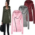 Autumn Winter Warm Women Casual Outwear Hoody Hoodie Hooded Pullover Sweatshirt Jumper Coat Top C0141