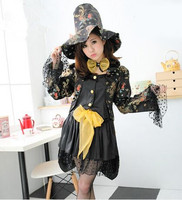 Sexy Witch Costume Ideas Sexy Womens Adult Witch Cosplay Clothing Black Witch Costumes Witch Party Supplies