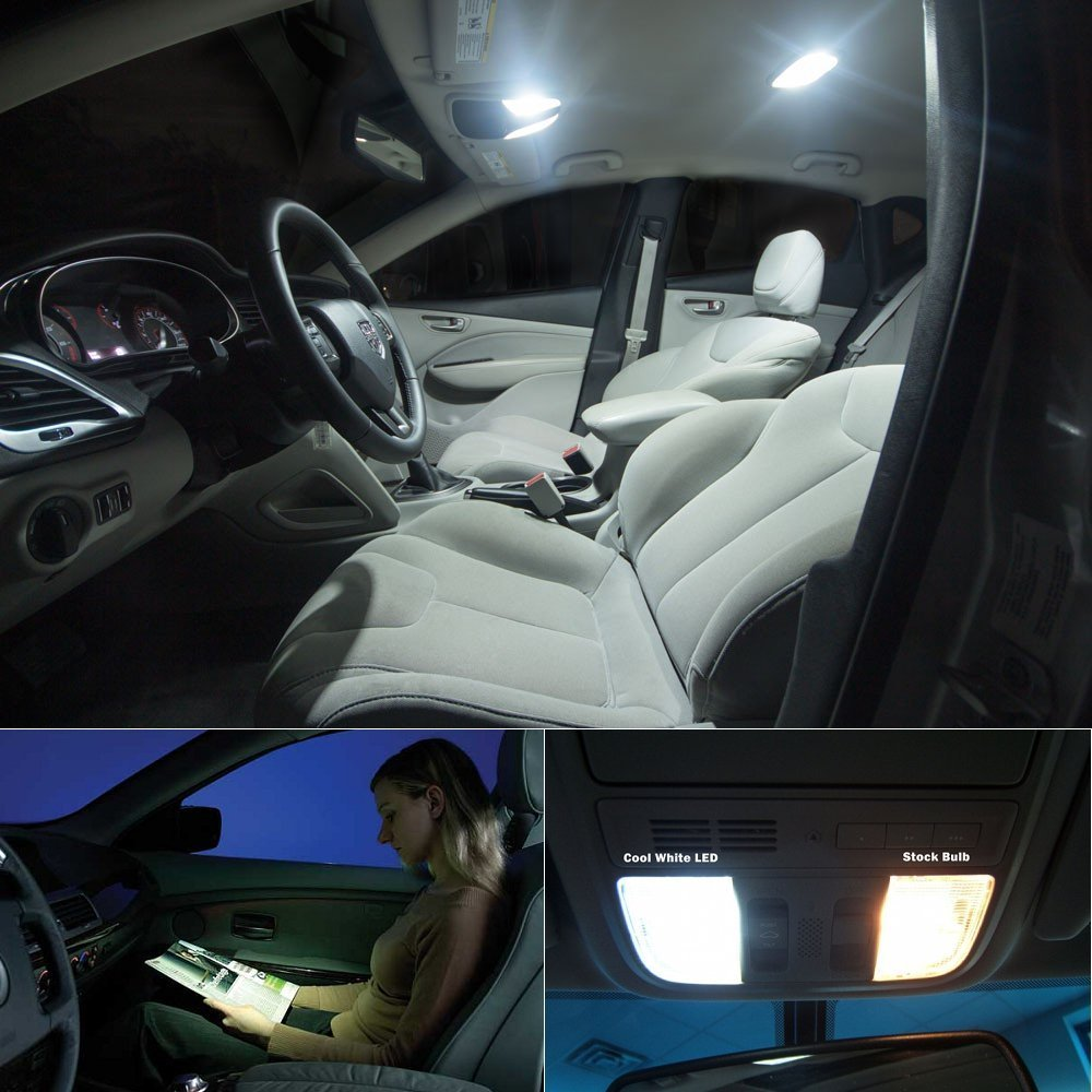 For Bmw 5 Series F10 F18 Gt Car Led Interior Light Replacement Bulbs