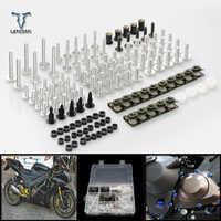 CNC Universal Motorcycle Accessories Fairing/windshield Bolts Screws set For Yamaha tdm 900 TDM 900 MT-01 mt01 V-MAX mt03 MT-03