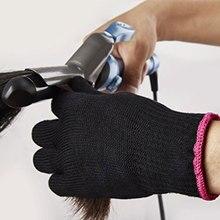 1 шт. профессиональная термостойкая перчатка для укладки волос инструмент для завивки прямой плоский утюг черная Кондитерская перчатка для завивки