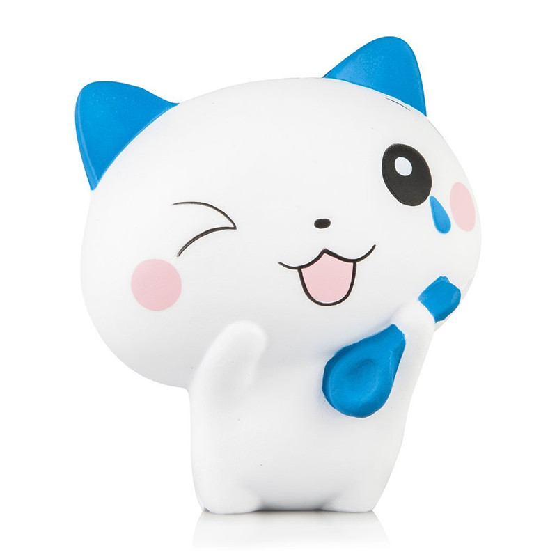 Squeeze Toys Squishies Slow Rising - Jumbo Kawaii Cat Squishy, Super Soft, Scented Stress Relief Kawaii Toys Squishy Toys