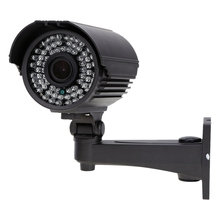 2 Packs Security Camera Outdoor CCTV 1200TVL LED IR-CUT Zoom Varifocal