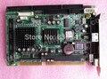 100% Оригинальный Бренд доска Для avalue ECB-642 ECB642 A1.1 ISA Слот материнской платы LAN VGA 2COM GX1 Половинного Размера Платы PICMG 1.0