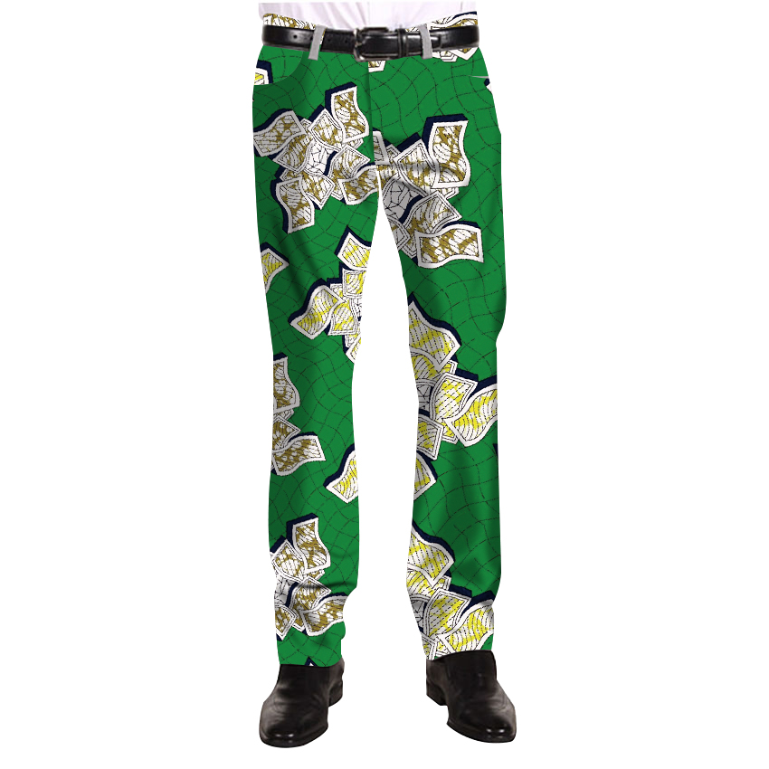 Casual Africa Men Print Pants Man African Trousers Festive Pattern Costume Customized For Men Trousers
