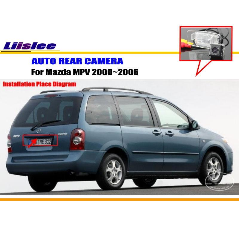 Автомобильная парковочная камера/камера заднего вида для Mazda MPV 2000~ 2006/камера заднего вида/светильник номерного знака