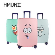 HMUNII Fashion Trolley Case Cover Travel Suitcase Luggage Protective Covers capa protetora para mala Suitcase Cover with Zippr