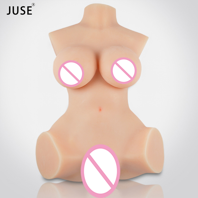 Silicone Torso Sex Doll for Men Vaginal Artificial Pussy Real Vagina Big Breast Realistic Love Doll Male Masturbation Products