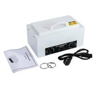 300W High Temperature Electric Nail Art Equipment Nail Drill Machine Sterilizer with Hot Air Disinfection Cabinet EU HWC