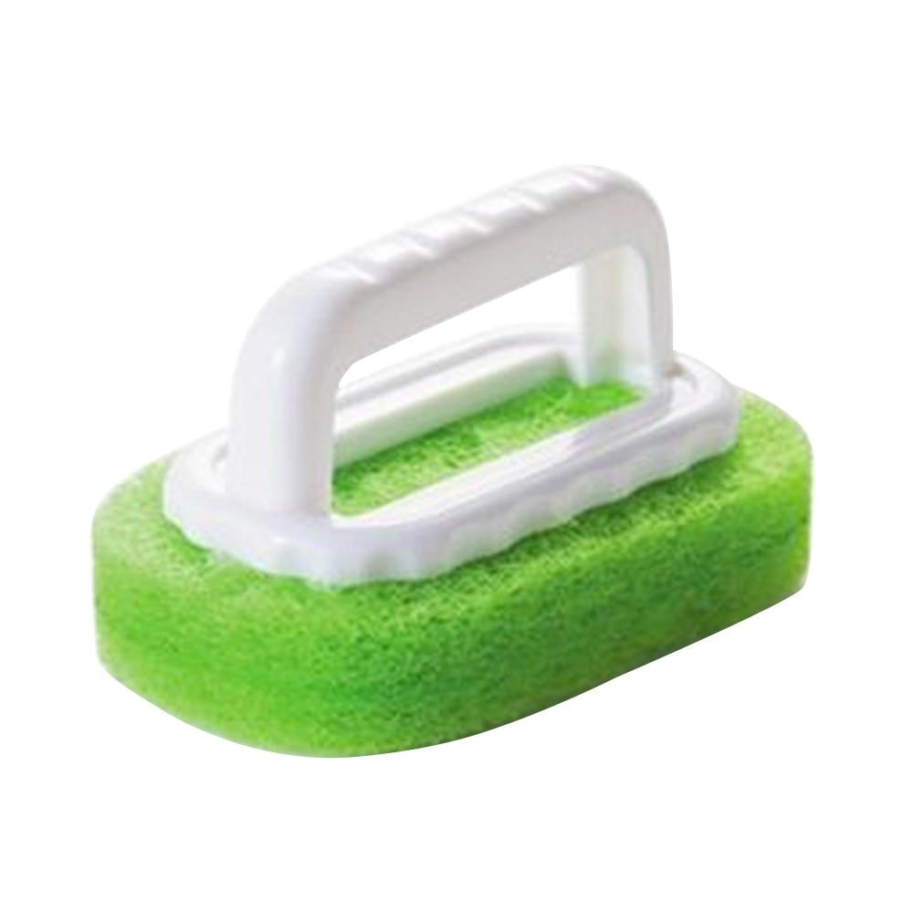 Home Strong Decontamination Bath Brush Magic Sponge Tiles Brush kitchen Supplies Wash Pot Clean Brush Sponge Rub