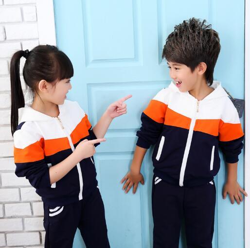 Children Clothing Sets Autumn Spring Girls Boys Sports Suit Kids Jacket + Pants 2pcs Suit Child Clothes Tracksuit