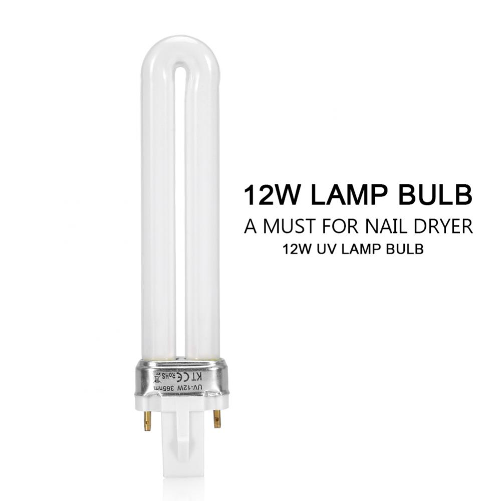 Nail Dryers Hottest Nail Dryers Led Light Bulb For Uv Lamp Nail Dryer Gel Polish Tube Replacement Nails Art & Tools