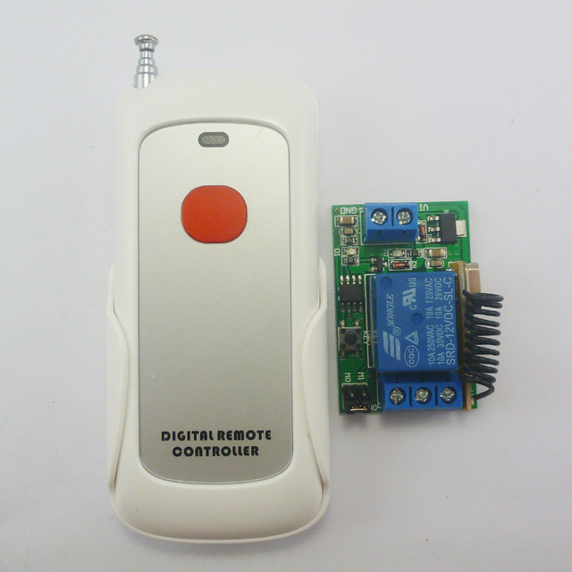 dc 12v relay wireless remote control rf switch on off switch 1