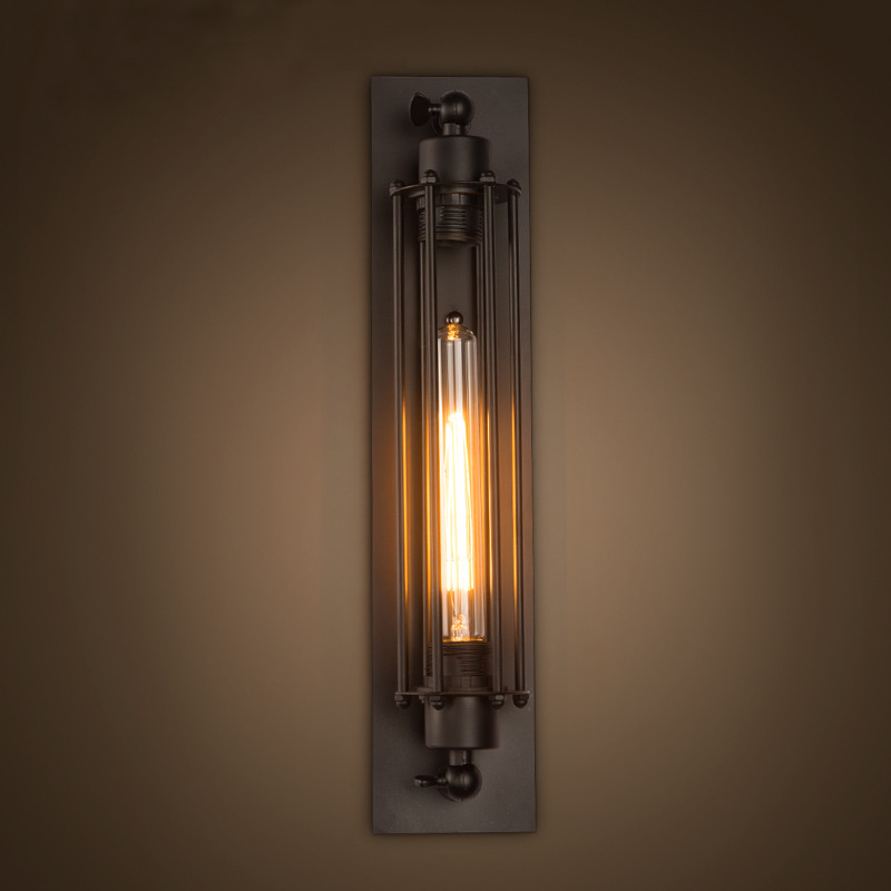 Loft Vintage Wall Lamps Indoor Lighting American Industrial Wall Lights For Home Decoration 110V/220V E27Loft Vintage Wall Lamps Indoor Lighting American Industrial Wall Lights For Home Decoration 110V/220V E27