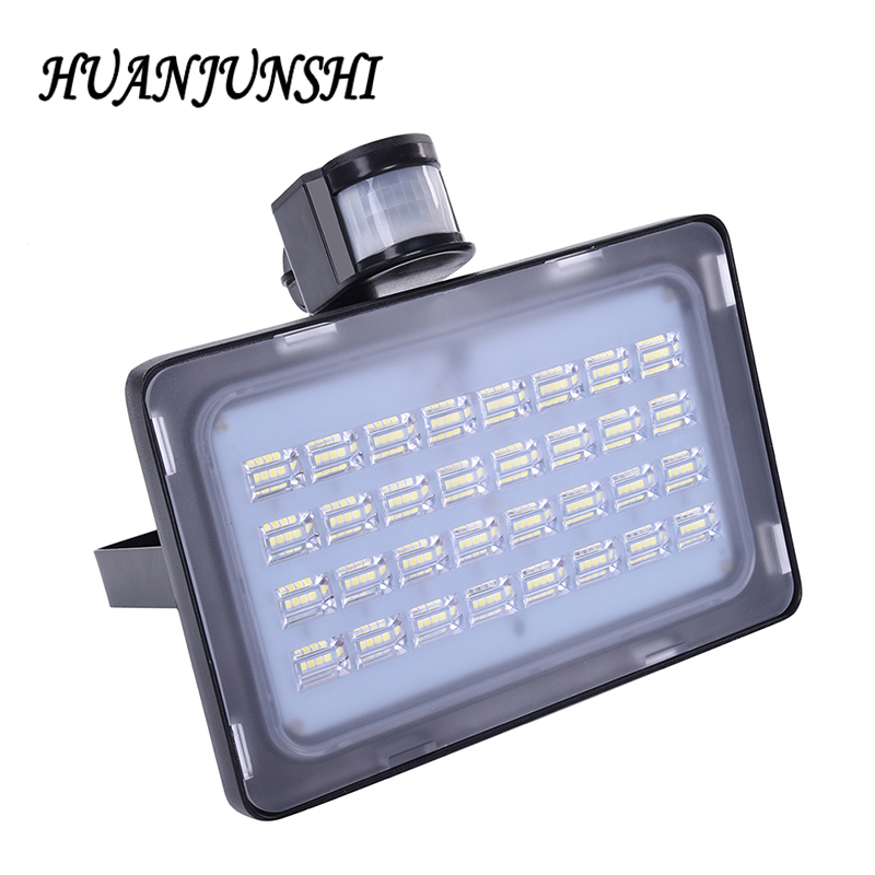 50W Solar Panel LED Flood Light Security Spotlight Garden Billboard Outdoor Emergency Light 128 LEDs Sensor Flood Lights Solar