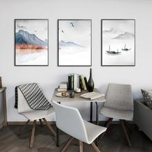 3Pcs/Lot Landscape Abstract Painting Style Modern Wall Art Canvas Acrylic Paints For Home Decoration No Frame