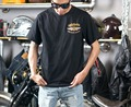 Troyleedesigns Frete Grátis Limitada 2016 Nova Uglybros-806 E 3 D Bordado Moda T-shirt Da Motocicleta Equitação No Verão