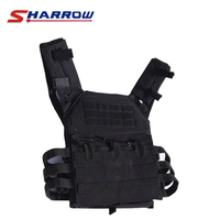 Sharrow 1 Piece Archery Tactical Vest Protection Tool 800D Nylon Material 5 Colors Outdoors Sports