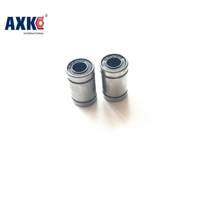 AXK 10pcs/lot 3D Printer Parts LM8SUU 8mm 8 mm x 15 mm x 17 mm Linear Ball Bearing for Makerbot Reprap Prusa i3 3D Printer Kit