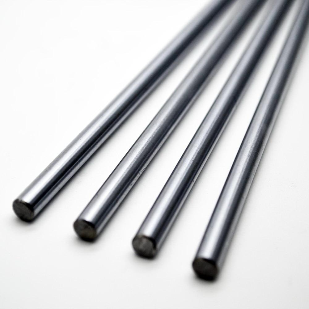 3D Printer 5mm Threaded Steel Rod Cut to Custom Lengths M5 Bar Shaft