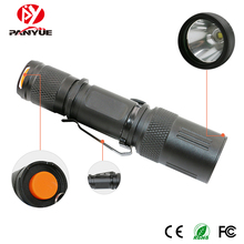 PANYUE 1000LM XM-L2 high Power Flashlight Torch 5 working modes Rechargeable Mini led flashlight use 18650 Battery цена