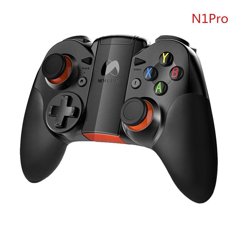 N1 Pro manette de jeu sans fil Bluetooth manette de jeu avec Clip pour Android IOS téléphone tablette PC 3D VR lunettes PK Gamepad