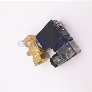 """Image 3 - ゴーゴーノーマルクローズ 2 ウェイコンパクトパイロット水真鍮ソレノイドバルブ 16bar 1/4 """"3/8"""" 1/2 """"BSP オリフィス 10 ミリメートル 220 ボルト AC PXC D14511 NBR"""