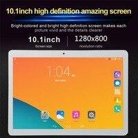 2019 pillbox The Tablet PC T805C 10.1 Android 6.0 Quad Core 32GB ROM Dual SIM 10 inch laptop Google WIFI GPS bluetooth 5MP