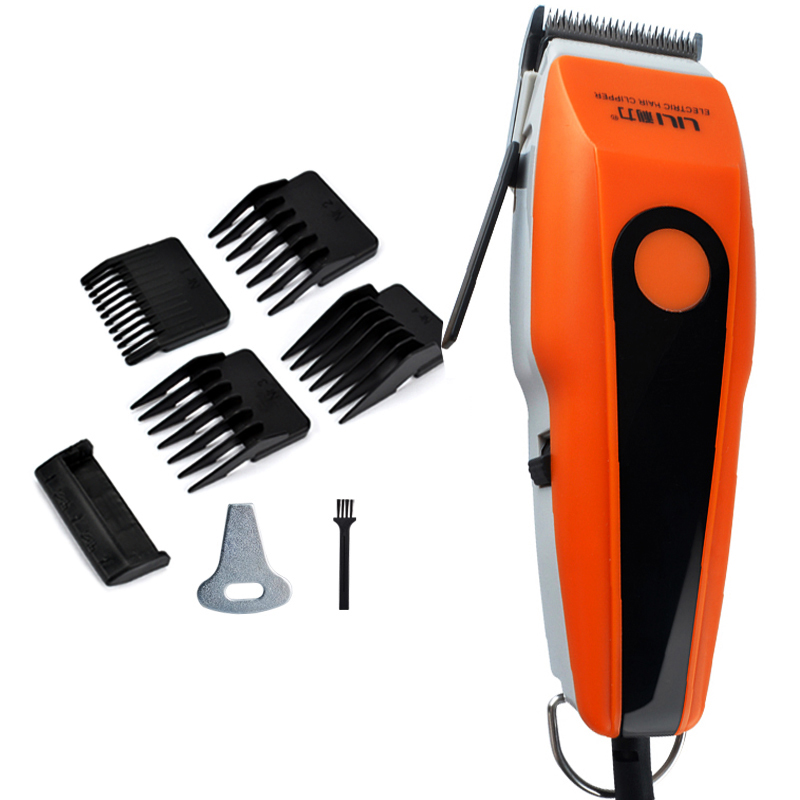 Powerful Corded 15W Professional Hair Clipper Stainless Steel Blade Hair Cutter Hair Trimmer Haircut Machine For