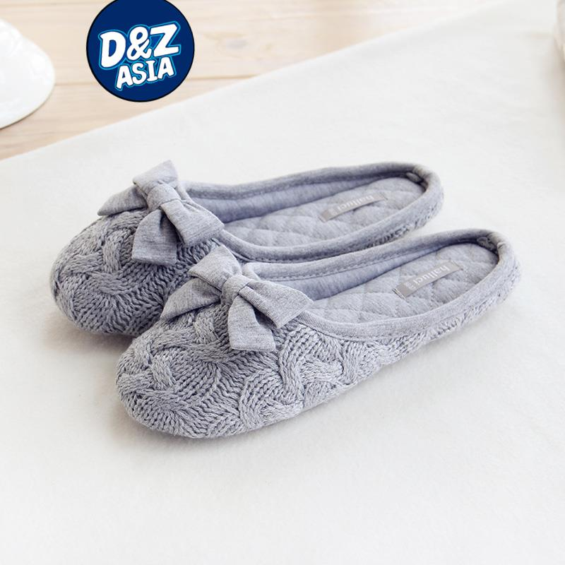 bedroom shoes for womens. Office New knit bow slipper household slippers interior non slip bedroom  shoes women in Slippers from Shoes on Aliexpress com Alibaba