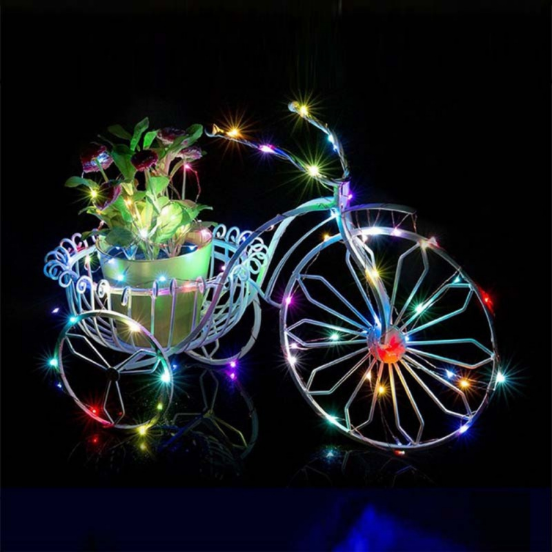DIY Party Fairy Lights Decor Decorations 5W LED String Lights Xmas Garland Party Wedding Decoration Christmas Flasher