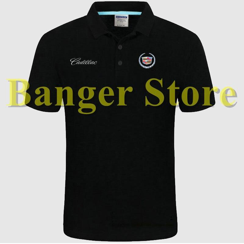 Cadillac Car Logo Women And Men S Polo Shirt 4s Shop Short Sleeved