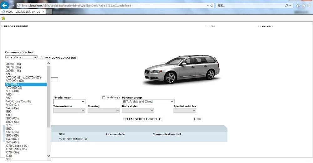 Top Sale For Volvo Vida Dice 2015A Add Cars To 2019 OBD2 Car Diagnostic Tool 2014D Vida Dice Pro Full Chip Green Board Free Ship
