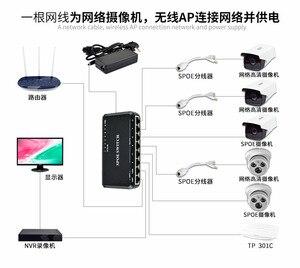 Image 5 - VLAN 지원 90W 8 포트 10/100Mbps POE 스위치 IP 카메라 네트워크 스위치 용 전원 이더넷 전화 장치 Wirelss AP 설정