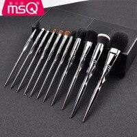 MSQ Professional Makeup Brush Set Animal Hair Brushes Eyeshadow Blush Eye Shadow Brush Kit Pinceis Brochas De Maquillaje 11PCS
