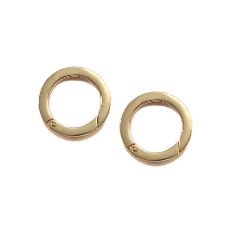 Large 1-1/4 Inch Spring Gate Rings, Shiny Gold Finish, 20 Pieces, Handbag Purse Bag Making Supplies Hardware, 1-1/4, 1.25 чехол накладка interstep is frame для apple iphone 7 plus 8 plus прозрачный с прокрашенным бампером розового цвета