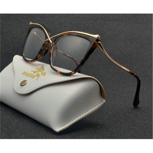 Image 1 - Fashion oversized frame sun photochromic women reading glasses man retro Discoloration reading glasses with box NX