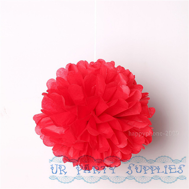 Wholesale 400pcs red tissue paper flowers 8inch20cm for wedding wholesale 400pcs red tissue paper flowers 8inch20cm for wedding backdropdecoration mightylinksfo