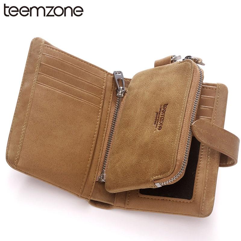 все цены на teemzone New Sale Genuine Leather Men Wallet Trifold Money Card Receipt Holder ID Detachable Multi-Purpose Pocket Purse Q609 онлайн