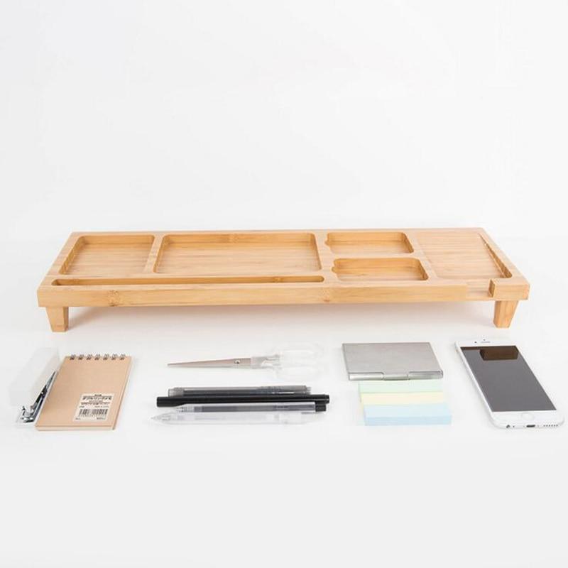 Computer Keyboard Stationery Holder Wooden Creative Office School Supplies Desk Accessories Organizer Stationery Holder