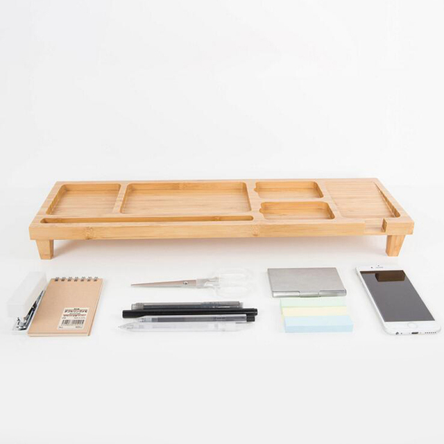 Beautiful Computer Keyboard Stationery Holder Wooden Creative Office School Supplies  Desk Accessories Organizer Stationery Holder