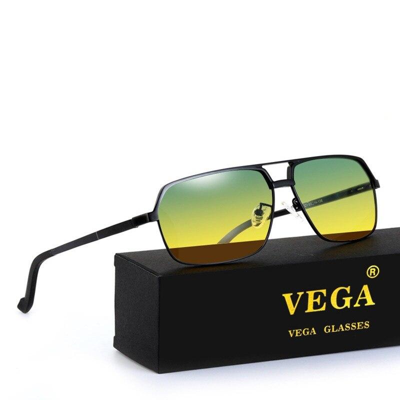 4aa7d7bad Montura de aleación de magnesio de aluminio de VEGA gafas de sol  polarizadas para el día