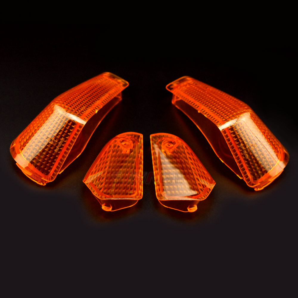 Turn Signal Light Lamp Lens Cover For KAWASAKI EX250 ZZR250 ZZR 250 Motorcycle Front & Rear Accessories Amber