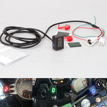 For Yamaha Royal Star all variants 1996-2010 2011 2012 2013 LED Electronics 1-6 Level Gear Indicator Moto Speed Digital Meter