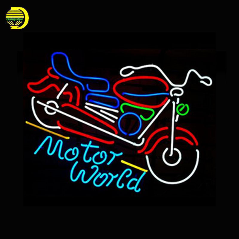 Beer Neon Sign China Motor Cycles Neon Signs Glass Tubes Neon Bulbs Signboard Handcraft cool Sports Sign neon lights for sale