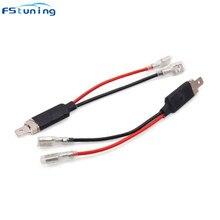 FSTUNING HID светодиодный h1 кабель питания конверсионный жгут провода H1 вилки электрические кабели питания Разъемы Адаптера H1 разъем