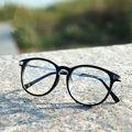 Gafas de Lectura de moda Retro Puntos Mujeres Marcos de Las Lentes Del Metal Unisex Marca Vintage Nerd Gafas de Protección UV Óptica