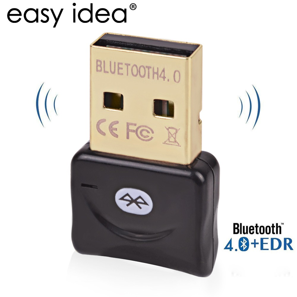 Adaptador Bluetooth USB Dongle Bluetooth Inalámbrico Para Ordenador PC 4.0 Blutooth Adaptador Micro Bluetooth Receptor Transmisor de Música