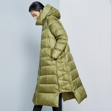 2016 Winter Women Fashion Long Thick Warm Down Jacket Women High Quality Women Overcoat Parka